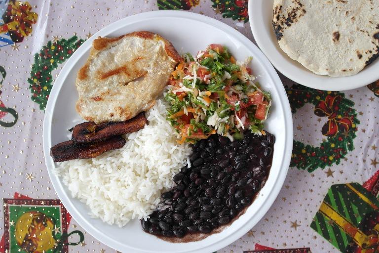 Piatto Tipico Costa Rica