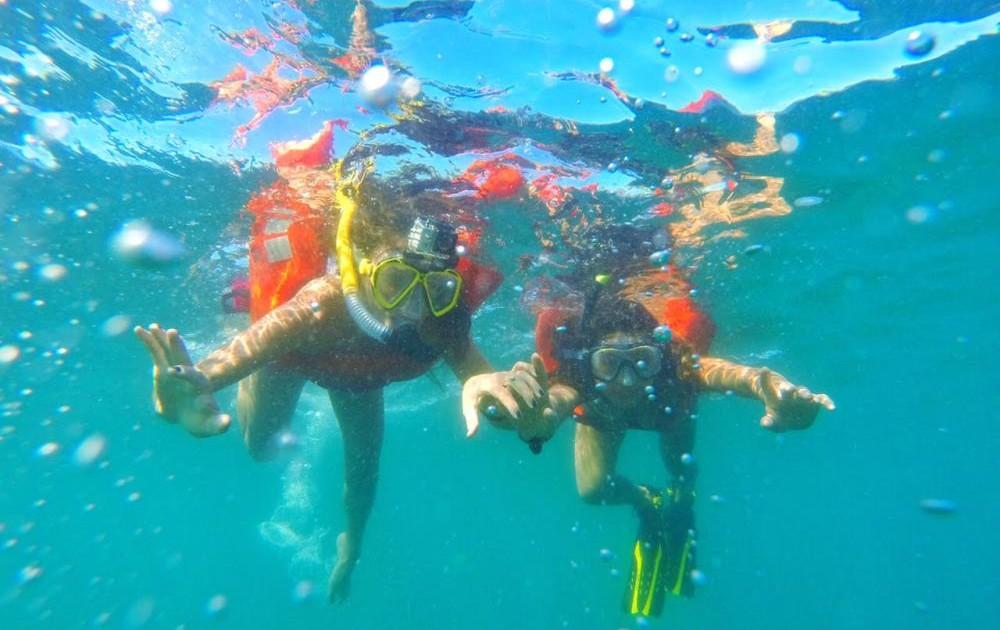 Costa Rica snorkelling