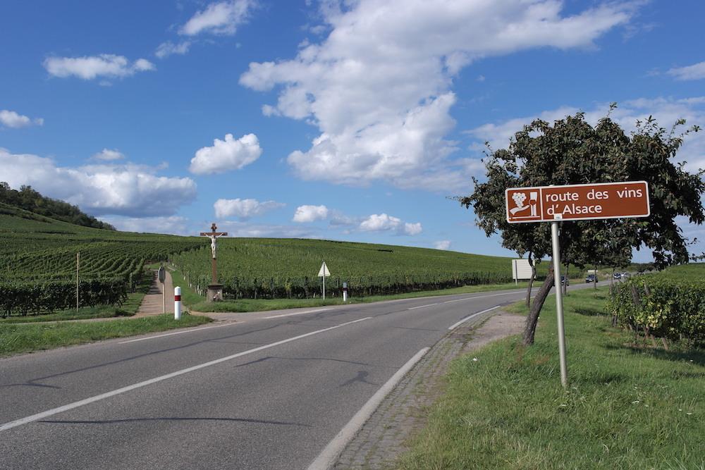 Strada vin Alsazia