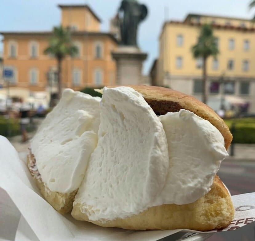 Dove mangiare il marotozzo panna ad Ascoli Piceno