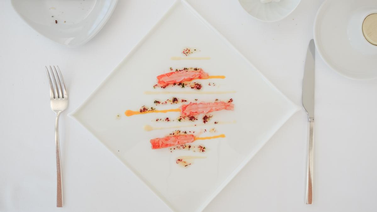 gambero rosso agli agrumi Chef Uliassi