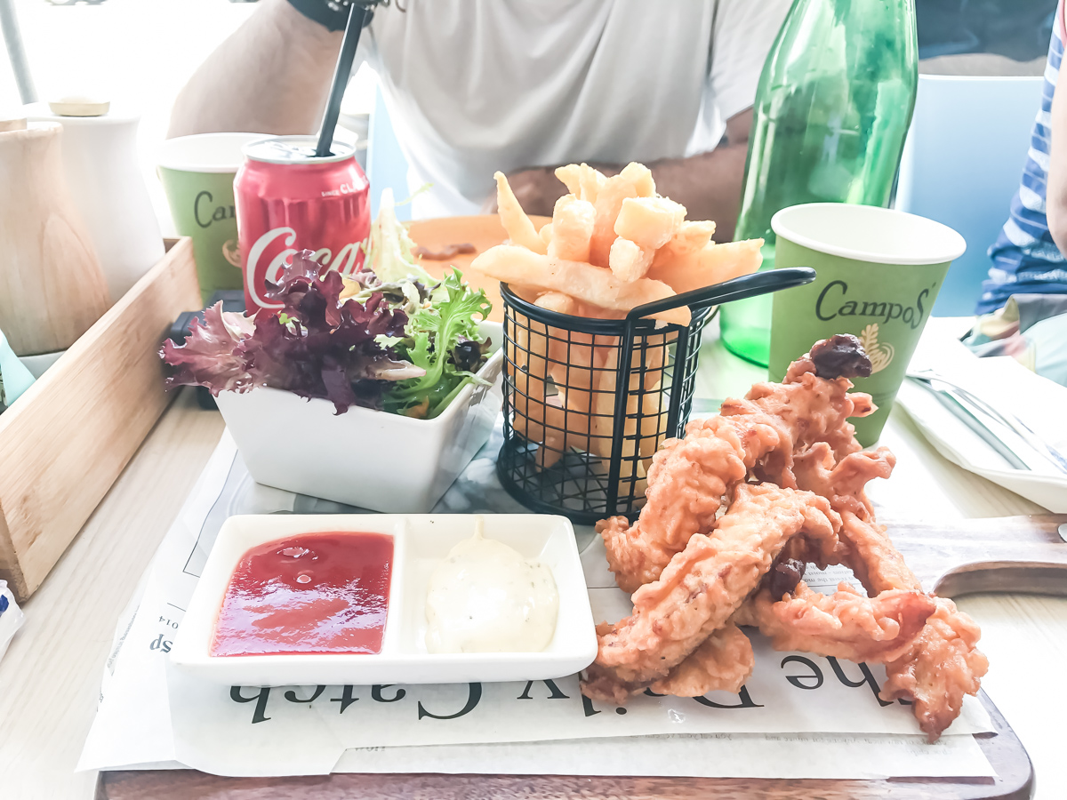 mangiare a Bondi Beach
