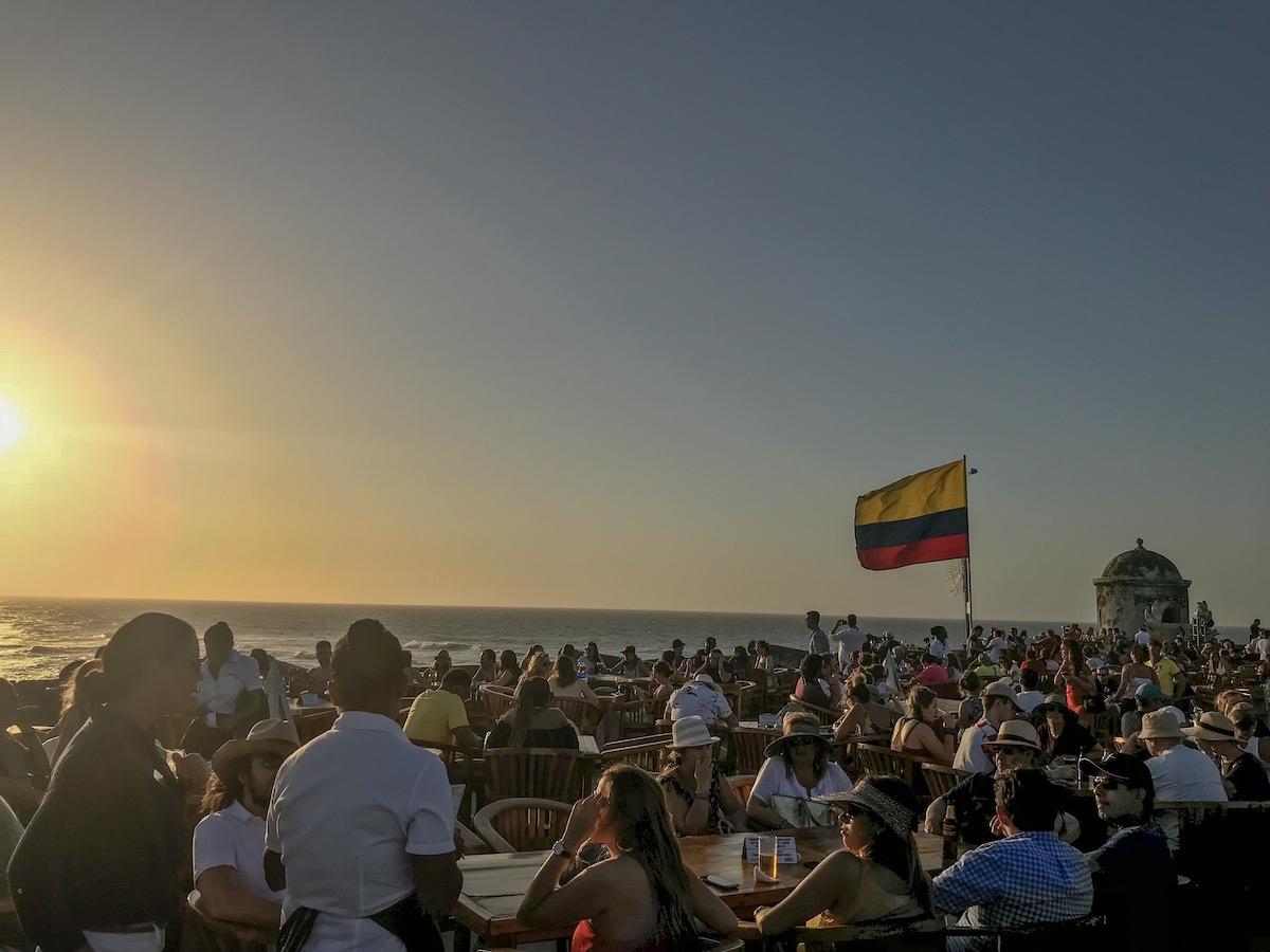 Cafè del Mar - Cartagena de Indias