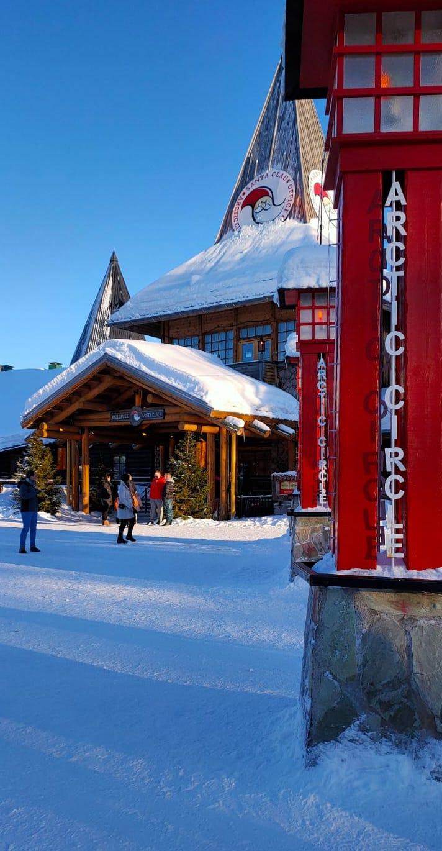 Cosa fare nella Lapponia Finlandese - Rovaniemi - il villaggio di Babbo Natale