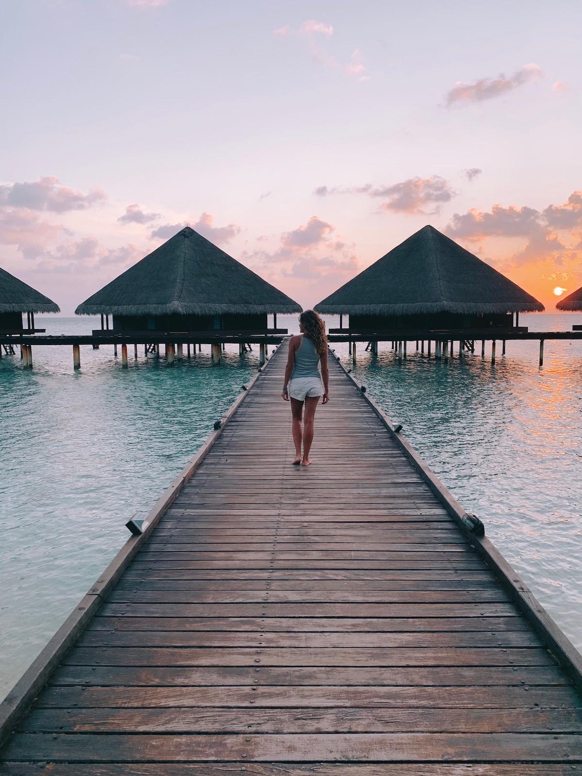 Bungalow sull'acqua Maldive